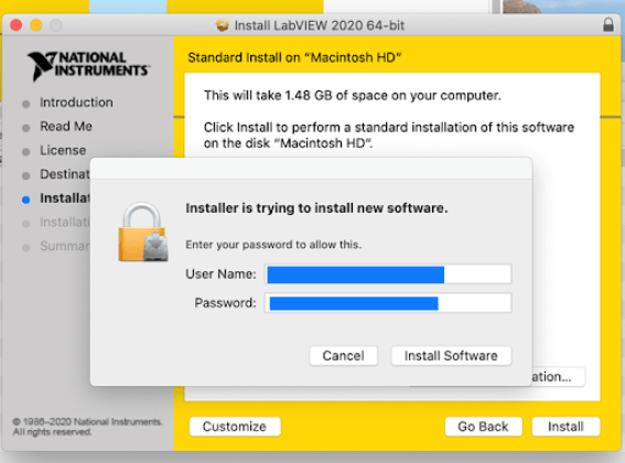 NI LabVIEW for mac