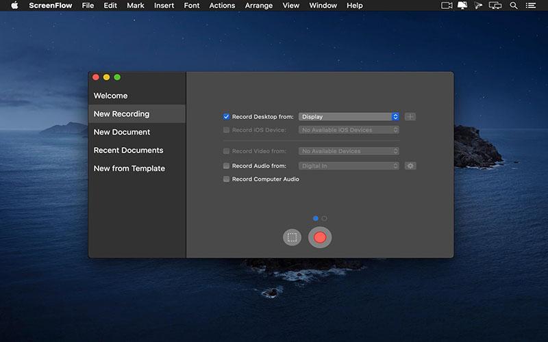 ScreenFlow macOS