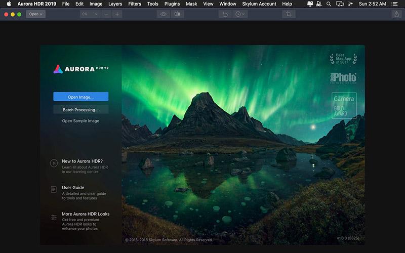 Aurora HDR 2019 Mac
