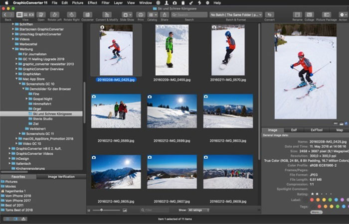 GraphicConverter for Mac