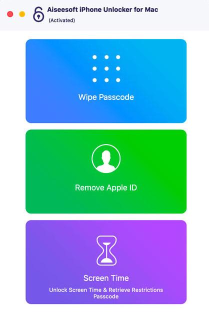 Aiseesoft iPhone Unlocker Mac