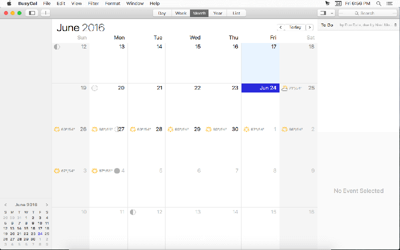 BusyCal for Mac