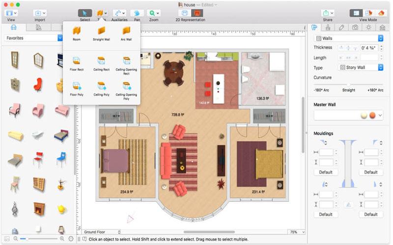 Home Designer Pro for Mac