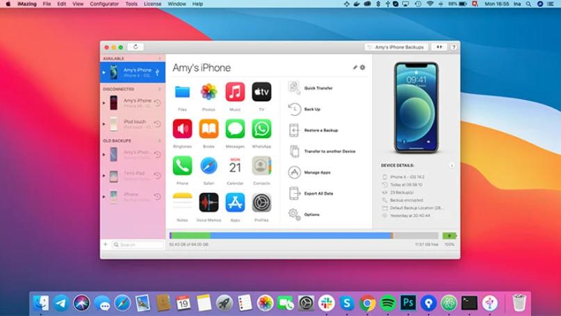 iMazing for Mac