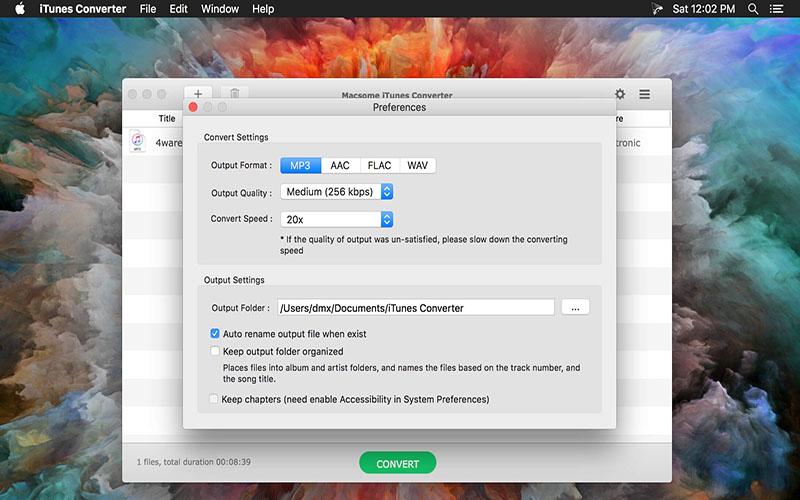 iTunes Converter Mac