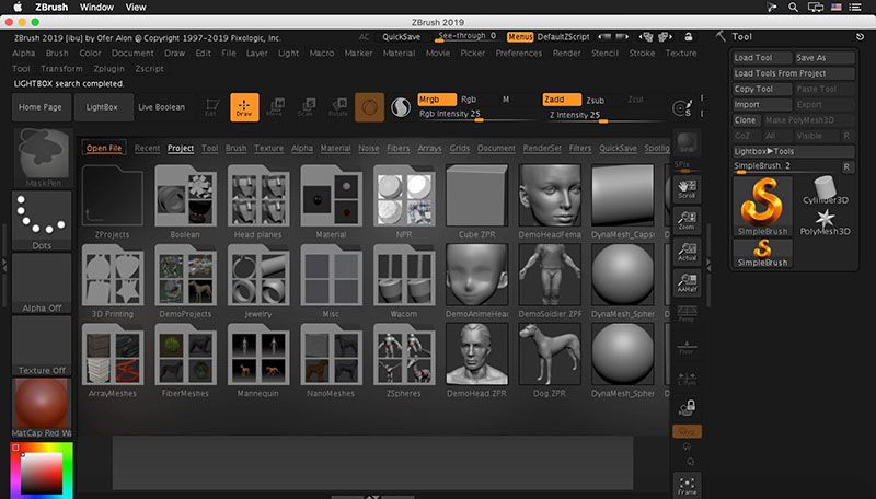 Zbrush for Mac