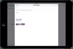 iPad Social