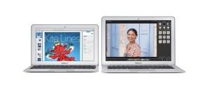 Updated MacBook Air.