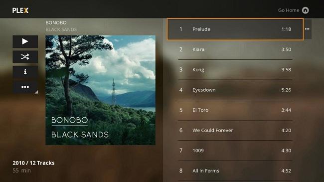 Play Apple Music via Plex on Roku