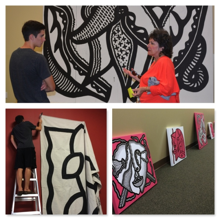 Hanging the Show at GBT