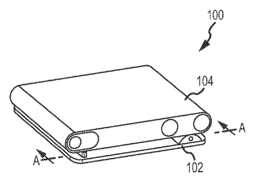 Apple patent is for iPod nano or shuffle with built-in