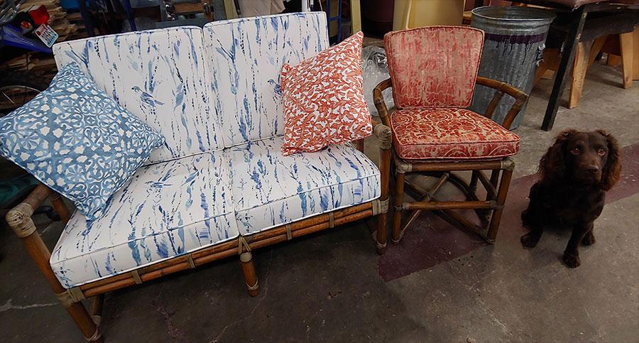reupholster repair furniture