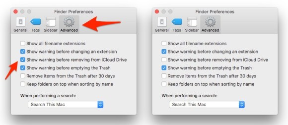 "How To: Turn Off the iCloud Drive ""Are You Sure You Want to Delete This?"" Warnings"