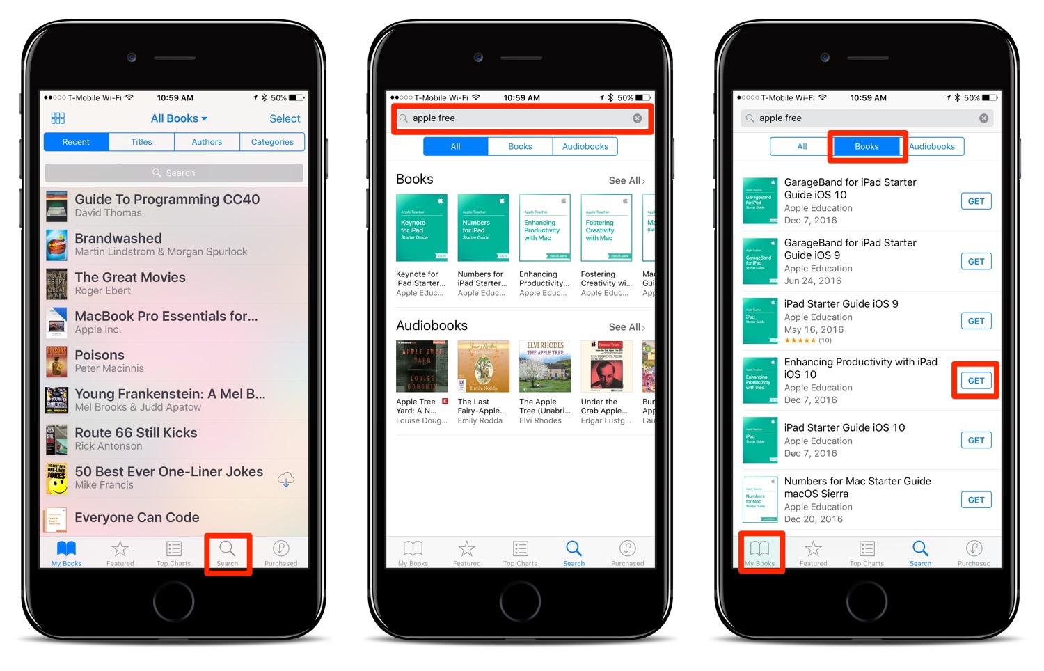 Finding Free Apple Ebook User Manuals In Ibooks On Your Ios Device