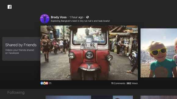 Facebook Video App Now Available for Fourth-Generation Apple TV