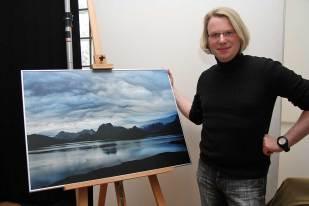 Christof Ruch mit Alaska-Motiv