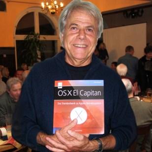 121. Treffen: OSX 10.11 El Capitan, iOS 9 und WatchOS 2 mit Anton Ochsenkühn, Gewinner der Verlosung Wolfgang B.