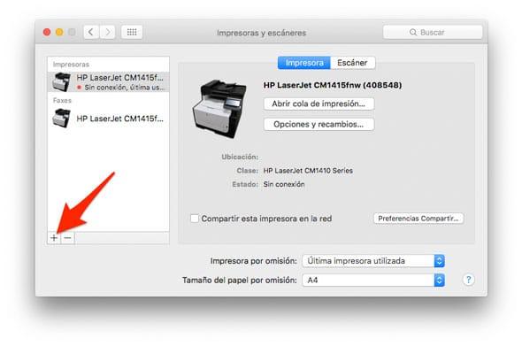 Configura tu impresora