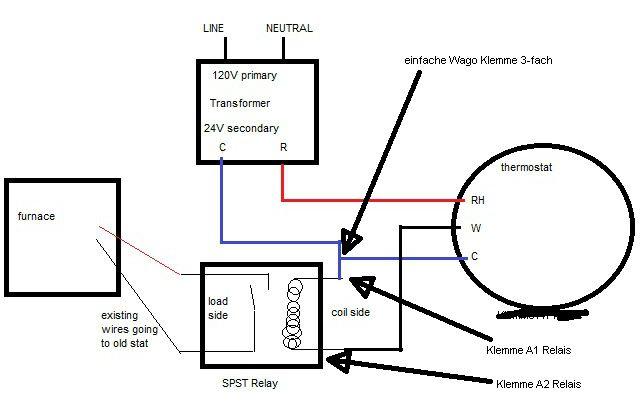 Nest Thermostat Schaltplan