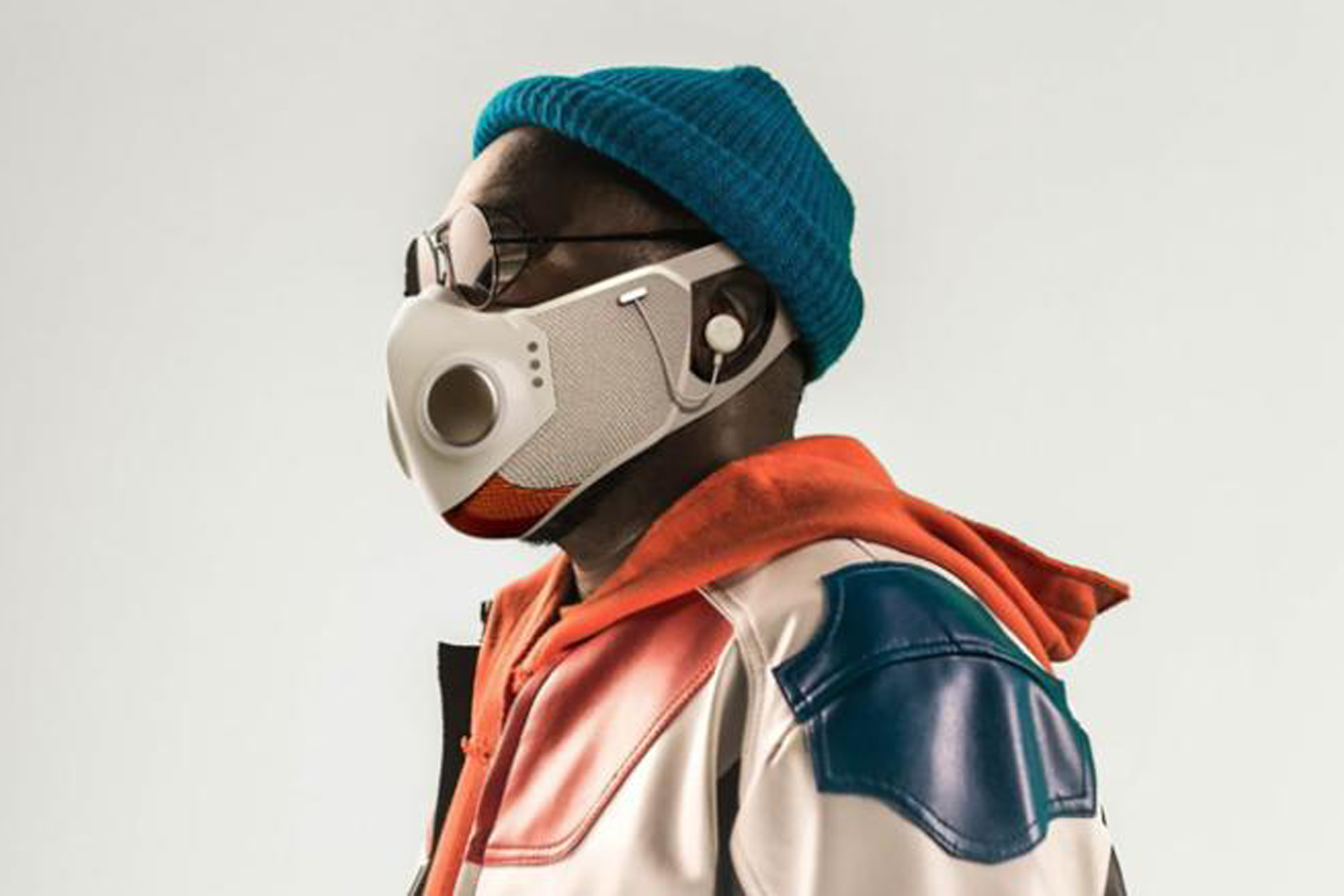 New S $ 299 face-to-face masks much like the Bluetooth Will.i.am Charles AirPods