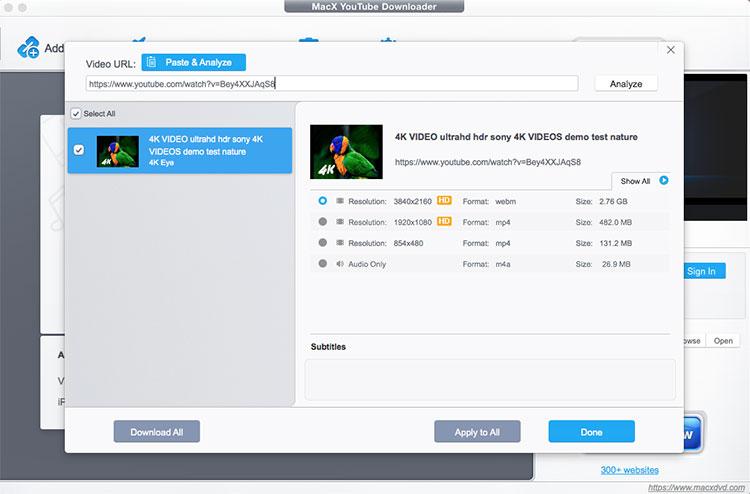 Le téléchargeur MacX YTB ajoute un serveur proxy pour accéder et saisir une image vidéo YTB bloquée