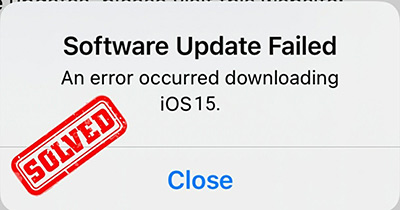 iOS 14 update problems and fixes