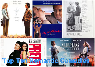 List Of Top 10 Best Romantic Comedies Of All Time