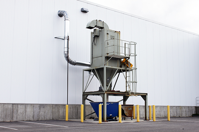 Custom Dust Collection Systems  Macy Industries