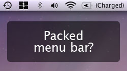 Is your Mac\'s menu bar a mess? Organize & remove your icons