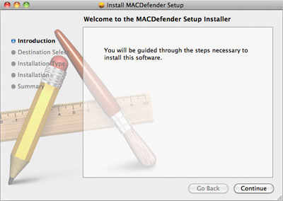 MacDefender trojan for Mac OS X