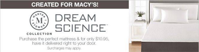Created For Macy S Dream Science Purchase The Perfect Mattress And Only 10 95 Have