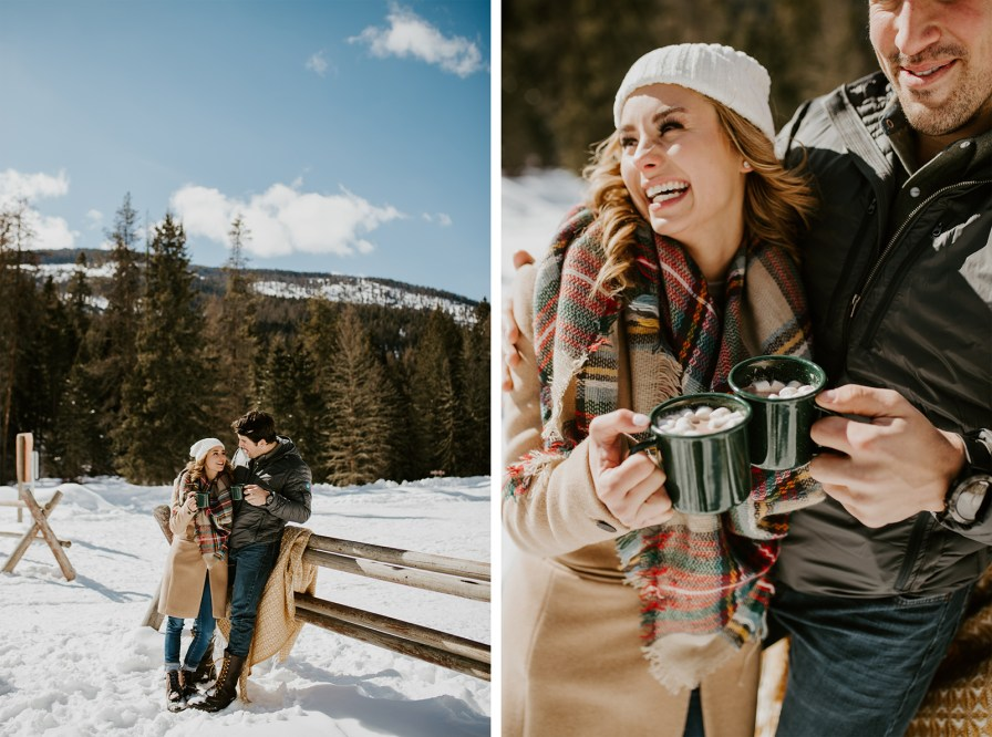 hot cocoa engagement
