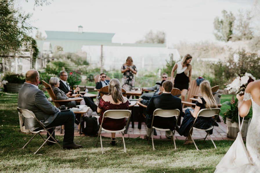Chico Hot Springs Wedding