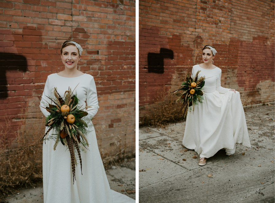 Billings wedding Montana bride