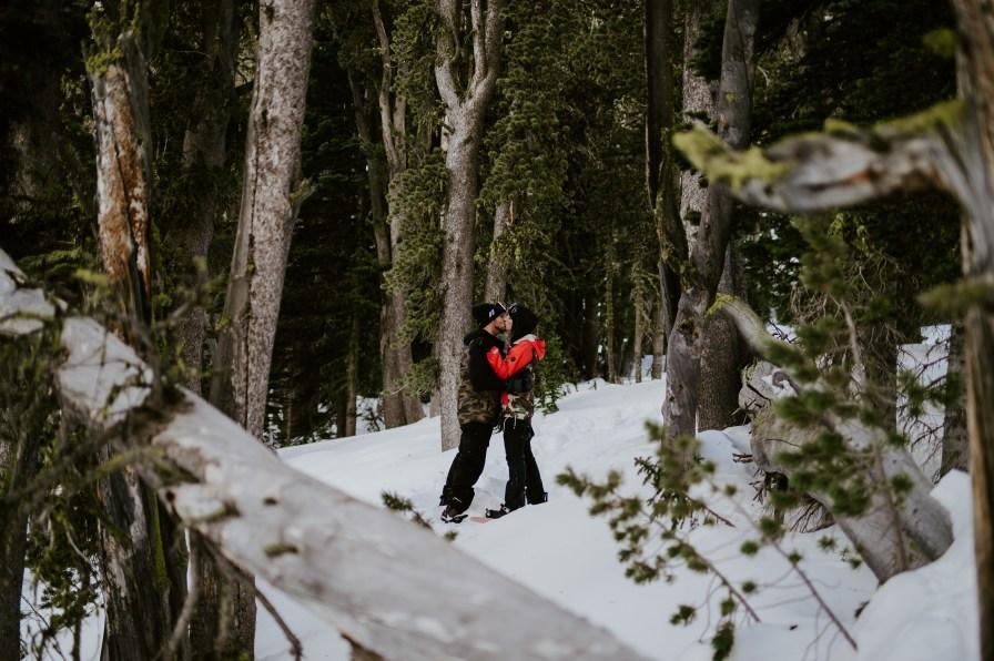snowboarding engagement