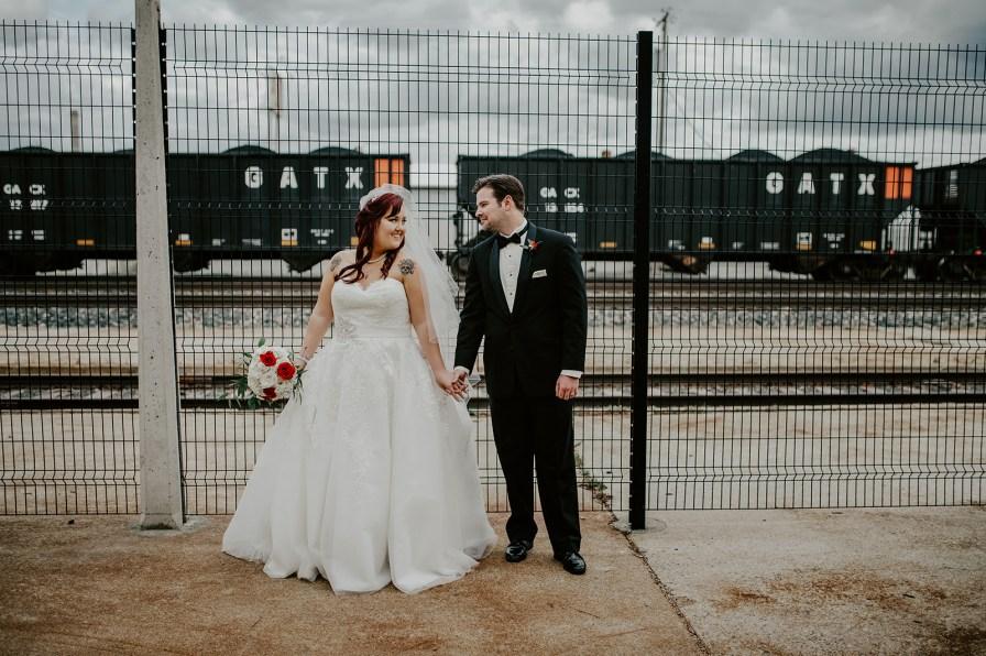 Billings Depot wedding