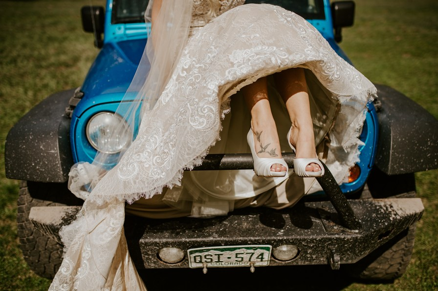 jeeping bride