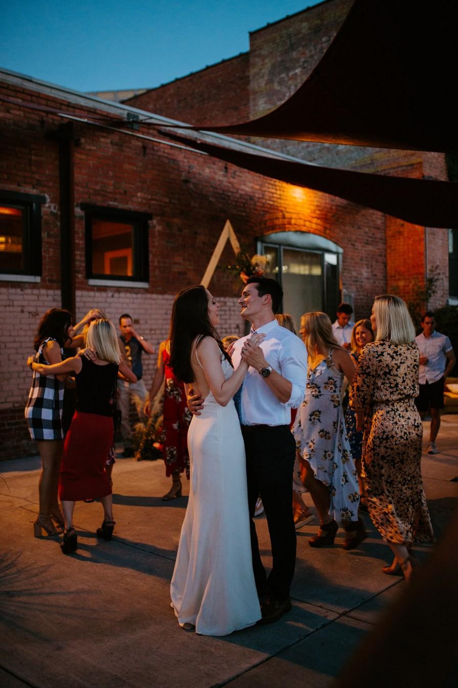 small montana wedding