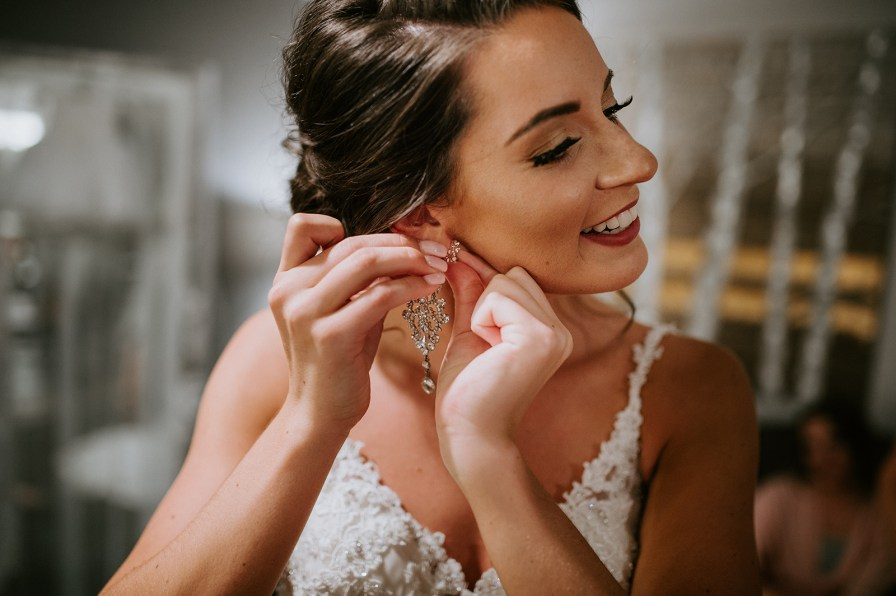 big bridal earrings