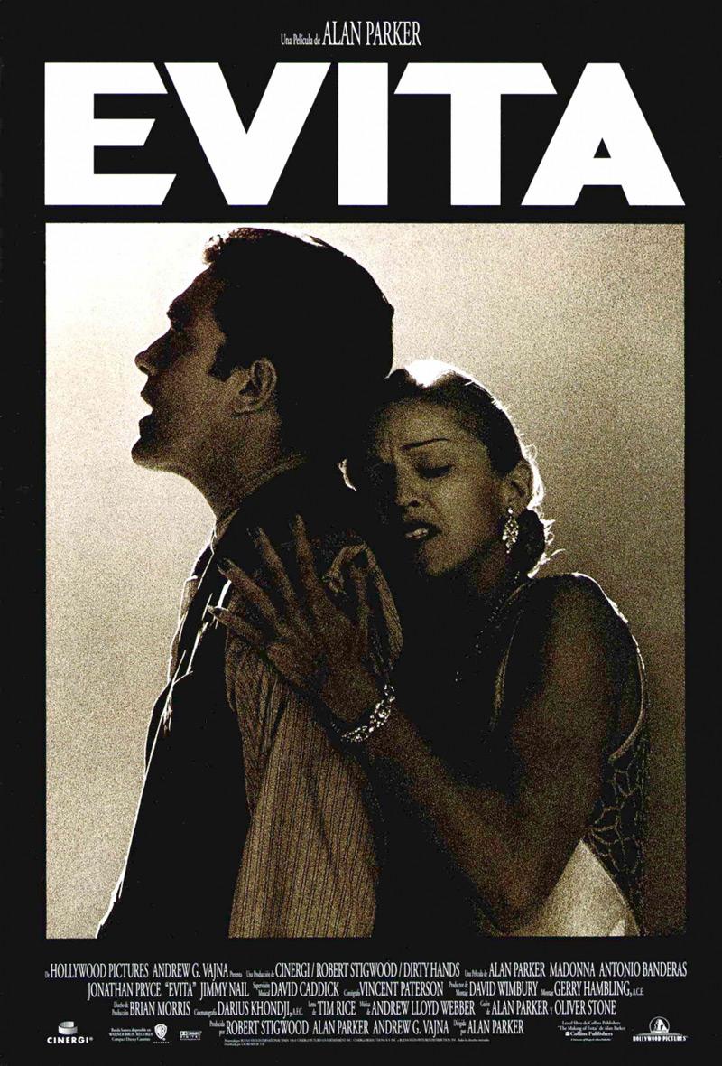 Evita  Alan Parker musical with Madonna  Antonio Banderas  MadEyes
