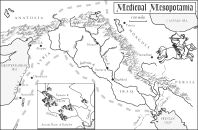 mesopotamia map colouring pages (page 2)