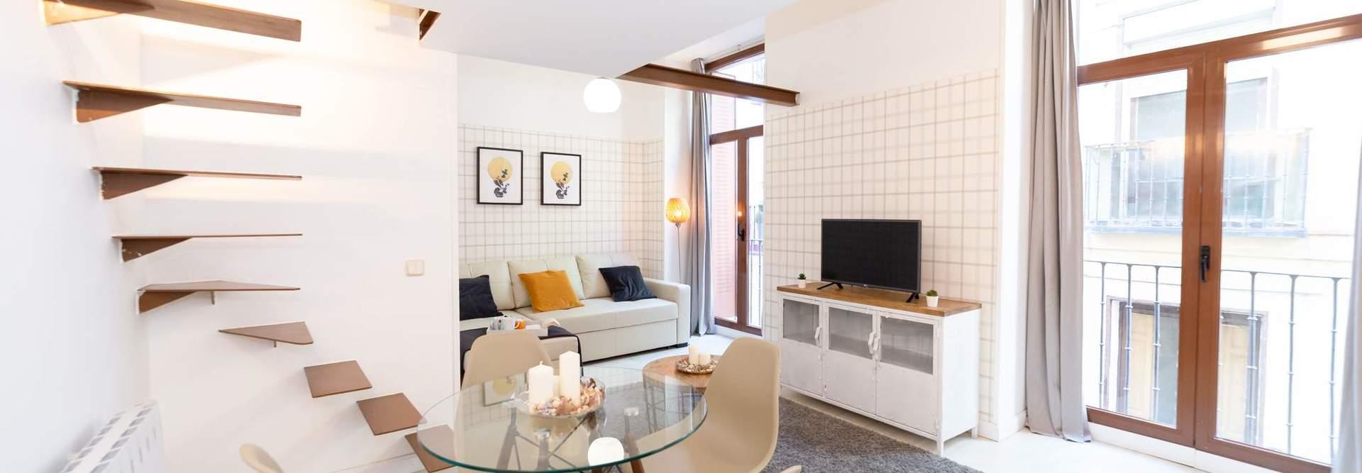 Alquiler de apartamentos por das Madrid centro