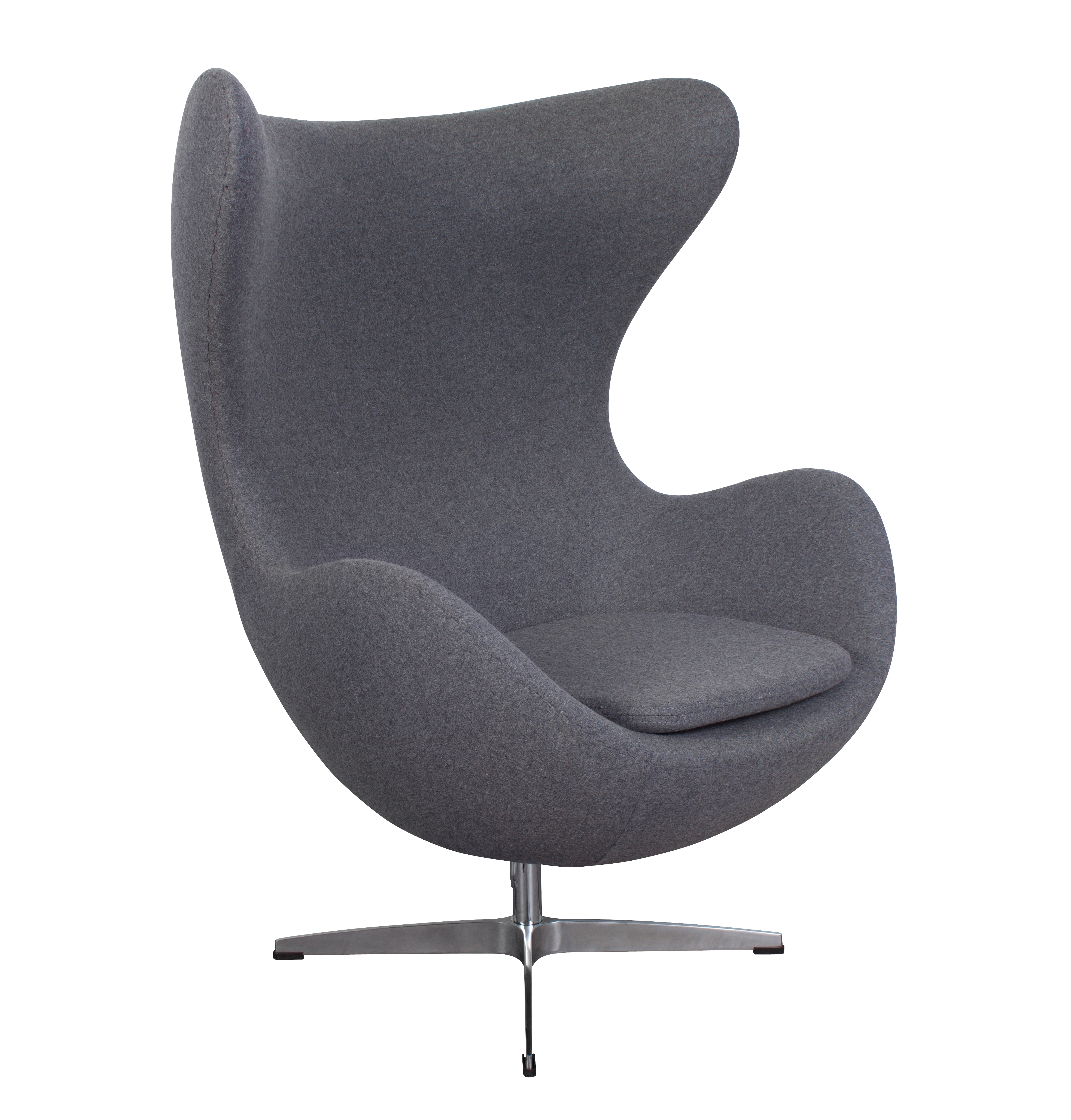 Arne Jacobson Style Egg Chair Cashmere