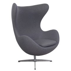 Mid Century Egg Chair Tolix Outdoor Arne Jacobson Style Cashmere