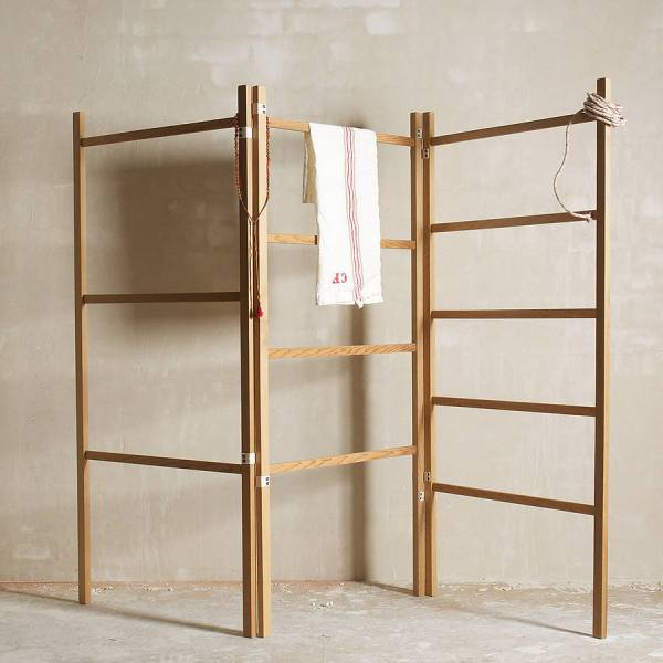 Objects Of Design #179 Folding Wooden Clothes Horse - Mad