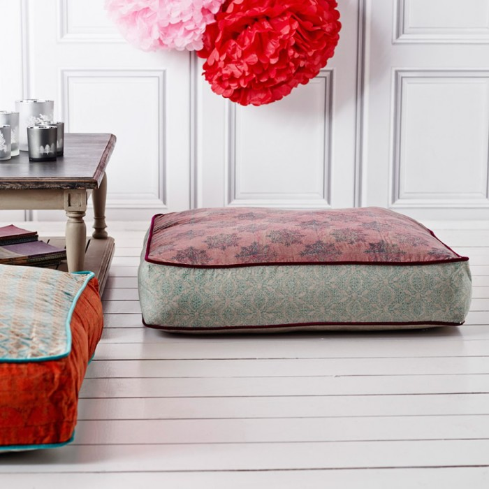Large Square Floor Cushion  Mad About The House