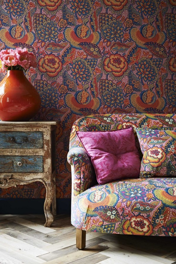 Liberty Fabrics And Wallpapers - Mad House