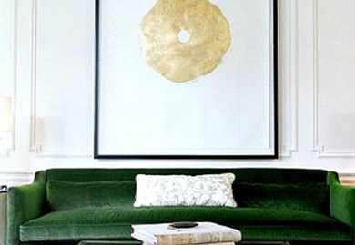 Green Velvet Sofa Mad About The House