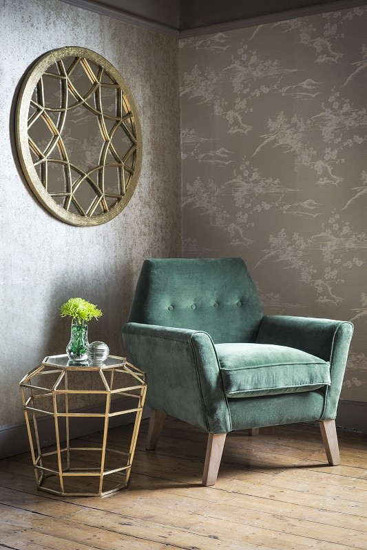 velvet chair design outdoor cafe tables and chairs green armchair mad about the house understated opulence