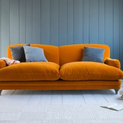 Orange Sofa Uk Charleston Pudding Mad About The House By Loaf Com